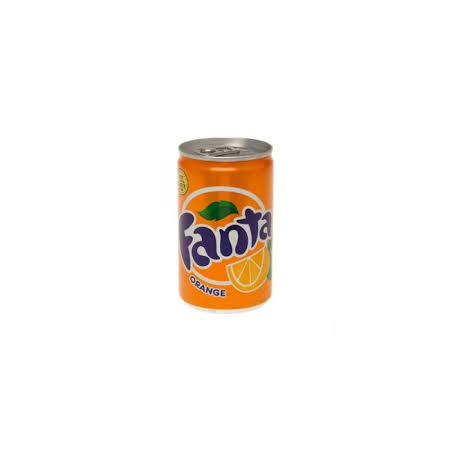 Mini Fanta Orange Blik 15cl