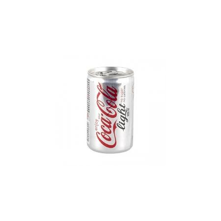 Mini Coca Cola Light Teneke 15cl